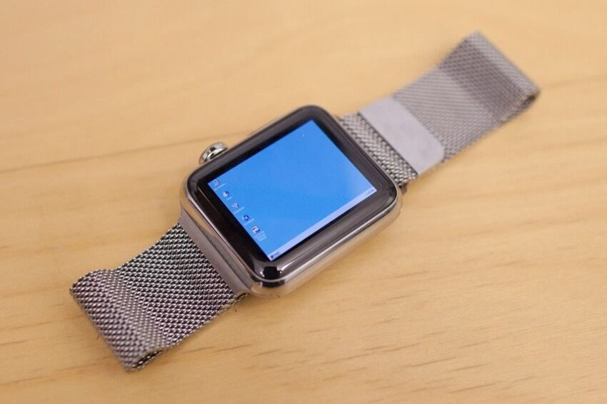 Windows 95 поставили на Apple Watch