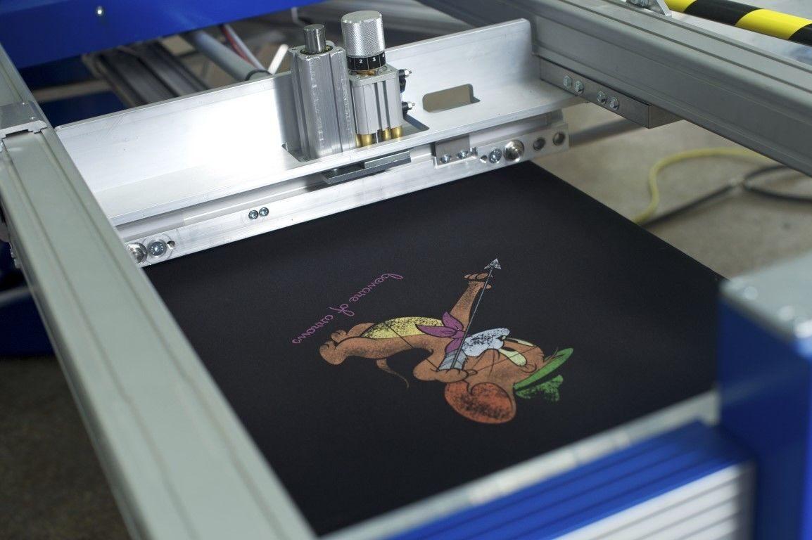 Трафаретная печать на картоне своими руками 41